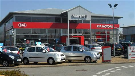 Kia Car Lot Marshall Of Ipswich Dealership Photos Kia Cars