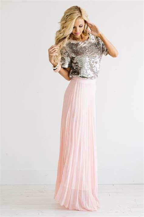 light pink pleated skirt light pink maxi skirt redskirtz