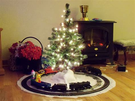 aromatic scale christmas trees tree trains and setups let s see yours model railroad hobbyist magazine