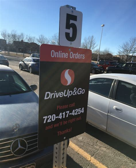 drive and go now available safeway drive up go grocery pickup