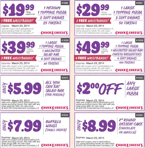 printable food coupons for disney world chuck e cheese coupons december and november 2017