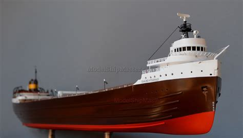 Largest Ship To Sink In The Great Lakes by Edmund Fitzgerald Ship Model 44 Inches 111 Cm