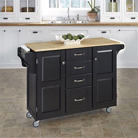 Kitchen Cart Black kitchen cart in black 9100 1041