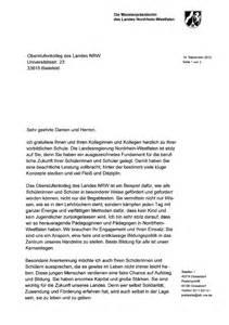 Anschreiben Bewerbung Uni W 252 Rdigungsschreiben Ministerpr 228 Sidentin Hannelore Kraft