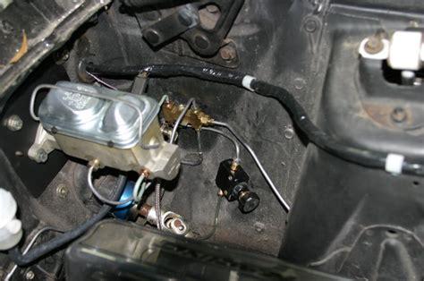 manual disk brake svo master cylinder vintage