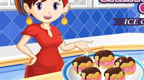 game membuat ice cream sara sara s cooking class games ice cream puff cooking games