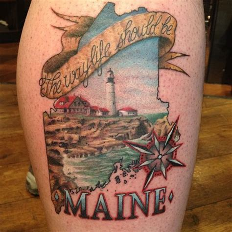 the maine tattoos the world s catalog of ideas