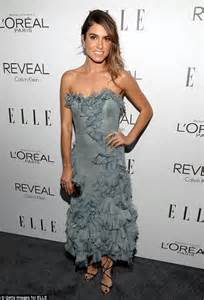 nikki reed picks grey gown for elle s women in hollywood