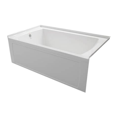 bathtub 66 x 30 valley oro 66 x 30 inch skirted bathtub left hand drain