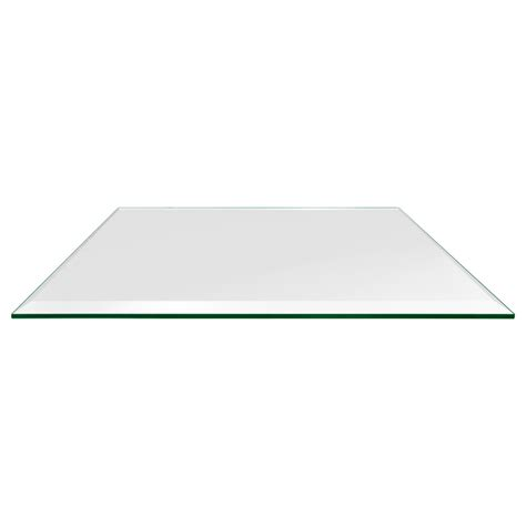 rectangle glass table top 36 quot x 60 quot rectangle glass table tops dulles glass and mirror