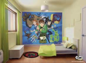 10 By 10 Bedroom Cool Ben 10 Bedroom Wall Mural Decal Ideas For Kids