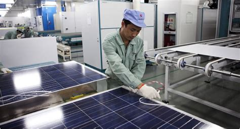 how we make solar panel at home china outdoes u s in solar products the new york times