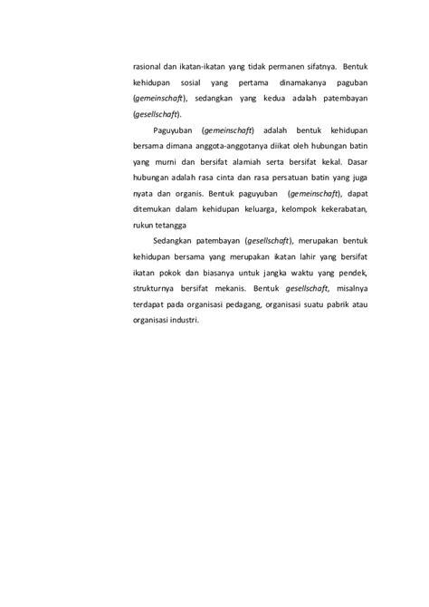 Teori Sosiologi Klasik 111679437 teori sosiologi klasik
