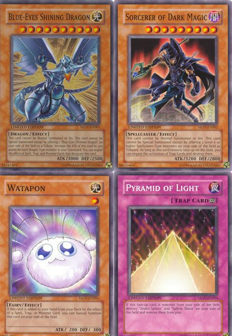 Kartu Yu Gi Oh Invigoration Holo Magic Card Kw yu gi oh the 4 card promo set mov en001 blue shining en002 sorcerer of