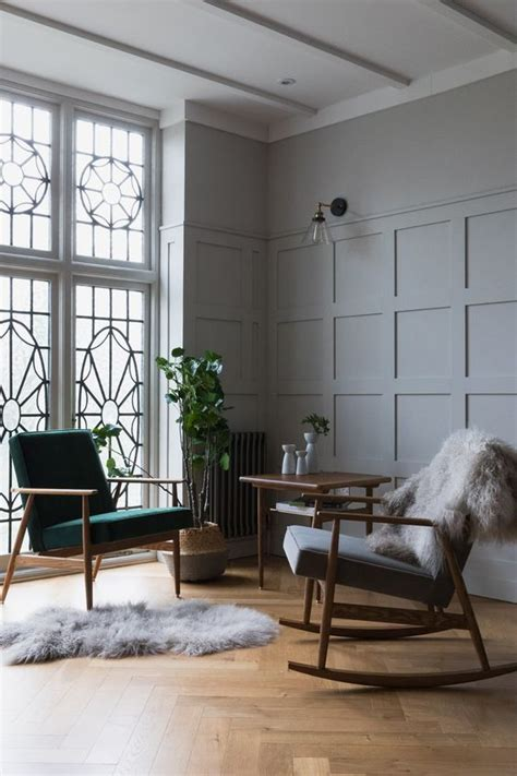 Contemporary Wainscoting Panels by Introducing Wood Panelling And A Dressing Room