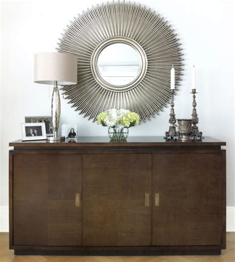 modern mirrors for living room credenza mirror modern living room new york by