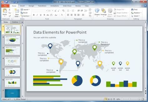 High Quality Charts Dashboard Powerpoint Templates For Presentations Powerpoint Dashboard Exles