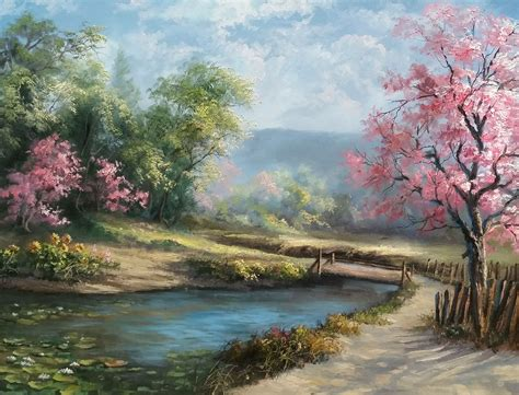 acrylic painting kevin quot day quot painting by kevin hill