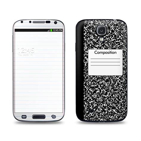 themes on samsung galaxy s4 composition notebook galaxy s4 skin istyles