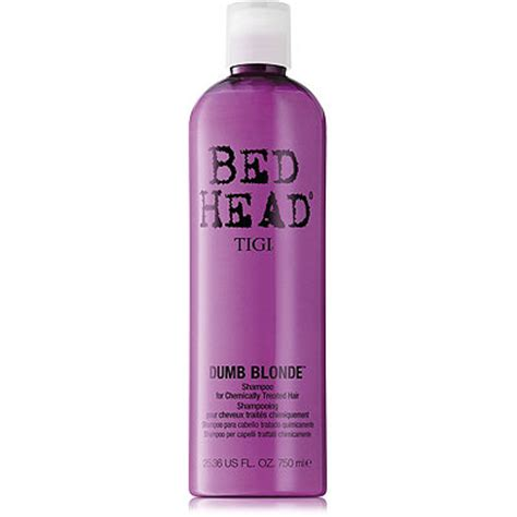 bed head dumb blonde tigi bed head dumb blonde shoo 13 5 oz ulta com