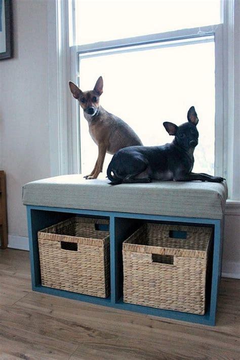 diy corner bench  storage  seating diyideastips