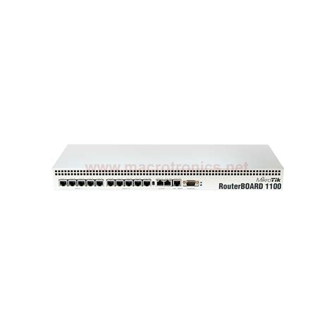Mikrotik Router Rb 1100 Ahx2 mikrotik ahx2 router board 1100 1u rackmount with dual