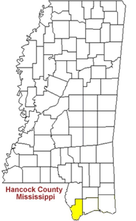 Hancock County Ms Records Hancock County Mississippi