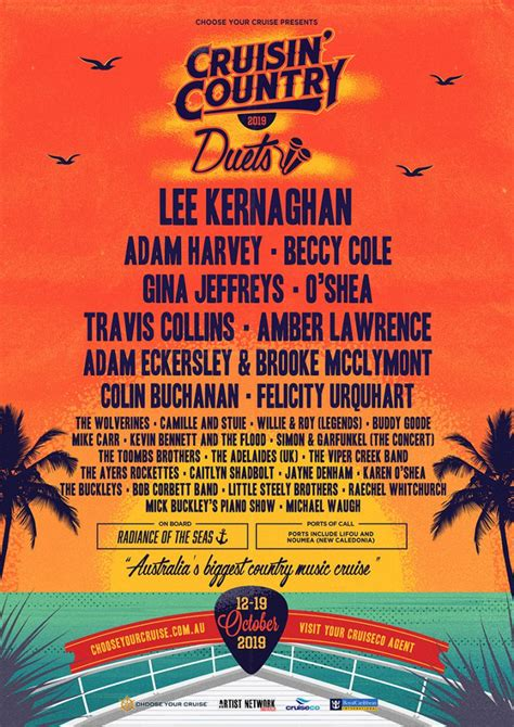 rock the boat 2019 choose your cruise