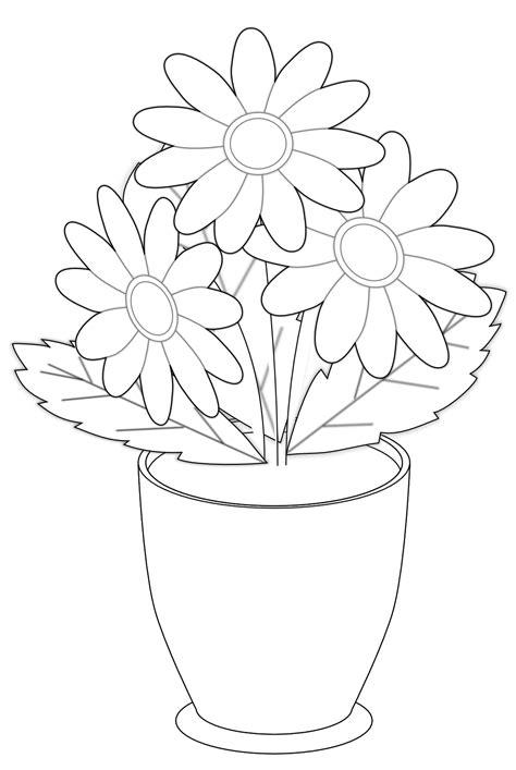 Black And White Flower Vase by S Vase Black White Flower Shrub Xochi Info Svg Xochi