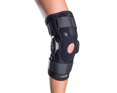 Knee Support donjoy drytex hinged air donjoy knee support brace