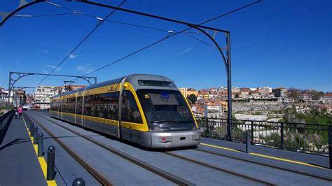 metro porto portogallo metro do porto portugal racom
