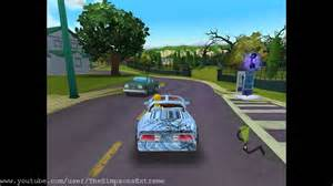 the simpsons hit run pimped car
