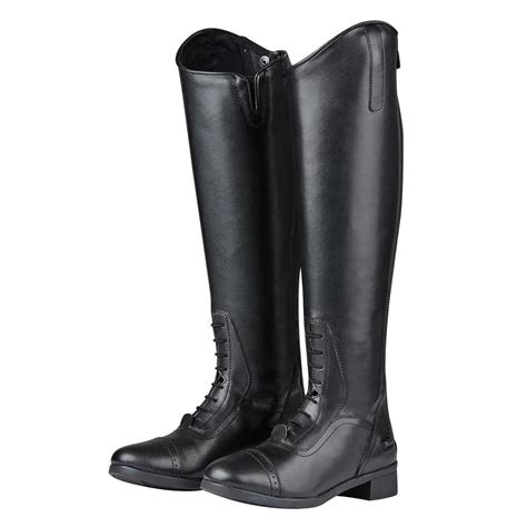 comfortable tall boots saxon syntovia ladies horse riding equestrian comfortable