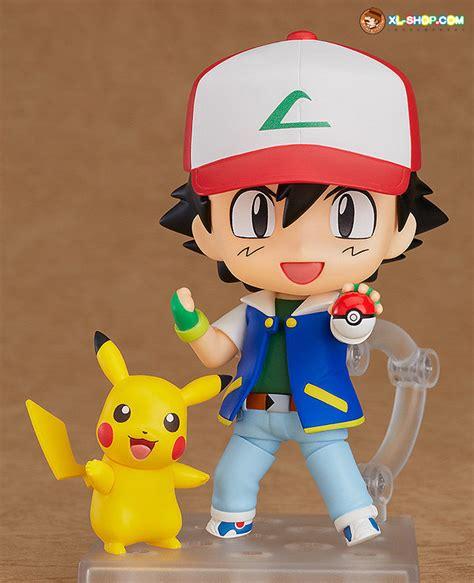 Shf Satoshi Ash Pikachu smile company nendoroid 800 ash and