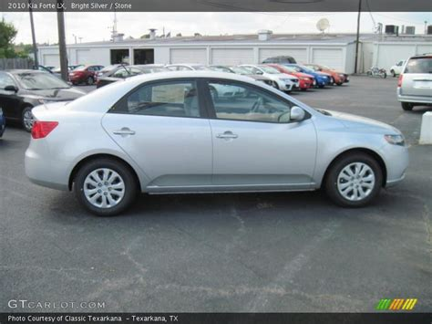 2010 kia forte lx 2010 kia forte lx in bright silver photo no 31086791