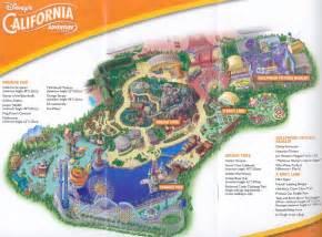 theme park brochures disney s california adventure theme