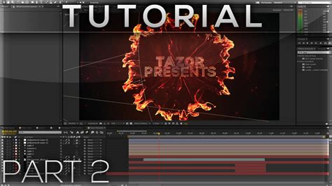tutorial after effect smoke after effects tutorial shockwave text effect part 2 2