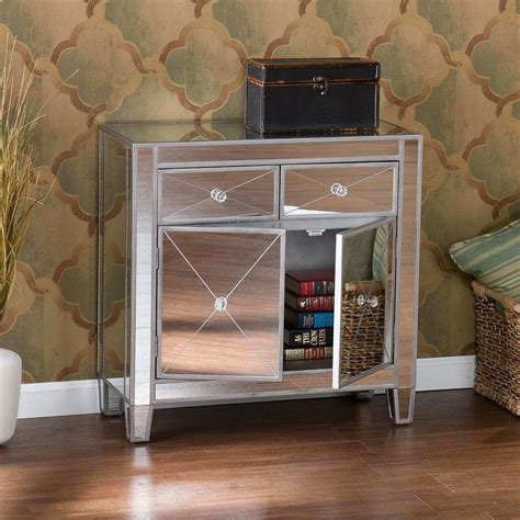mirrored home decor glam mirrored dresser bedroom chest drawers furniture