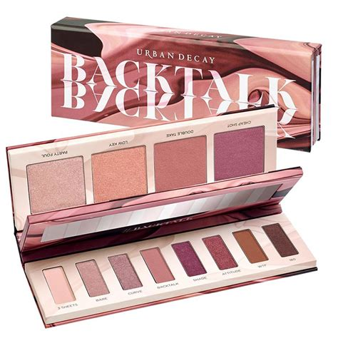 Promo 3 Decay Eyeshadow Palette 3d decay backtalk palette coming soon