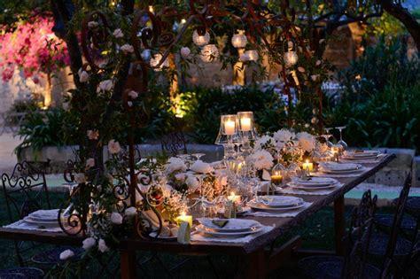allestimenti tavoli matrimonio matrimonio chic all aperto l allestimento dei