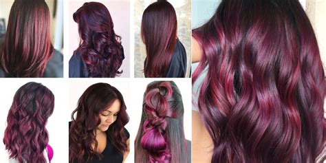 how to hair color is burgundy hair color right for you matrix