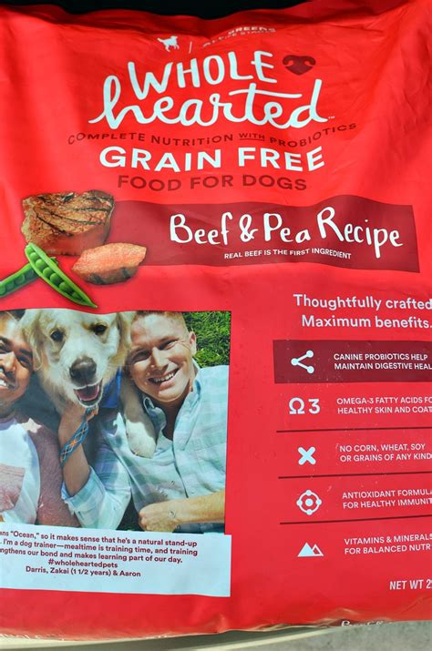 is grain free food better wholehearted is a brand of high quality grain free food