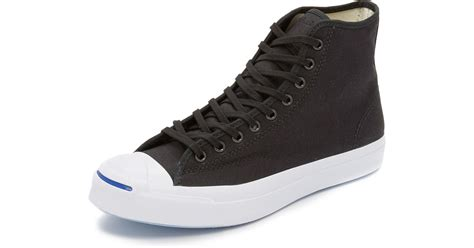 Jual Converse Purcell Black converse purcell canvas sneakers in black for lyst