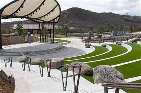 Outdoor Phillip S Miller Park Amphitheater In Castle Rock South Garden Castle Rock