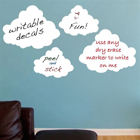 cloud stickers for walls cloud erase decals erase wall decal murals primedecals