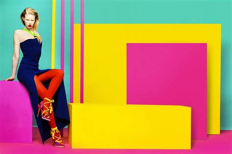 fashion colour graphics colourful language fashion sherayde neon block