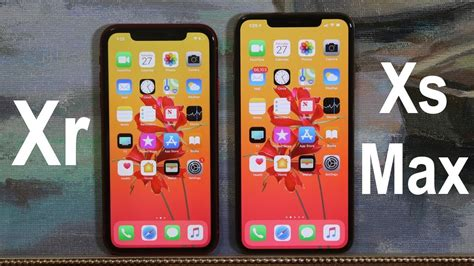 iphone xr vs iphone xs max comparison