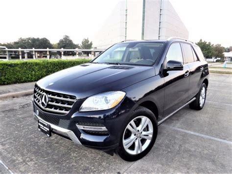 Used Mercedes For Sale In Houston Tx mercedes m class for sale in houston tx