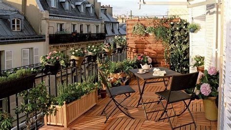 comment arranger balcon ou jardin pour mieux