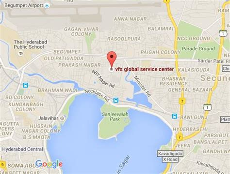 us consulate hyderabad address map the u s emby